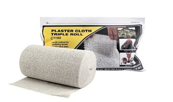 WOODLAND SCENICS C1192 Plaster Cloth Triple Roll 8 x 45'