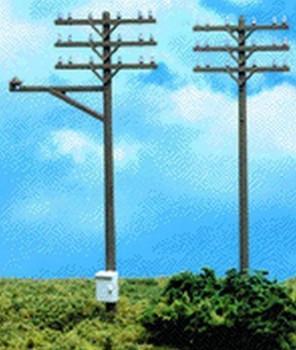 Atlas 775 HO Telephone Poles HO (12)