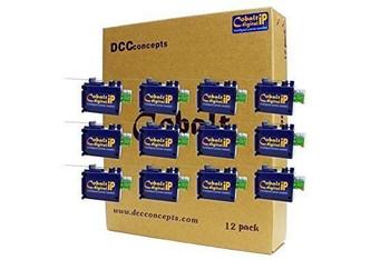 DCC Concepts CB12DIP COBALT IP DIGITAL 12/PK