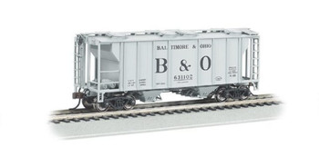 Bachmann 73504 HO Scale PS-2 NYC Two-Bay Covered Hopper Vehicle
