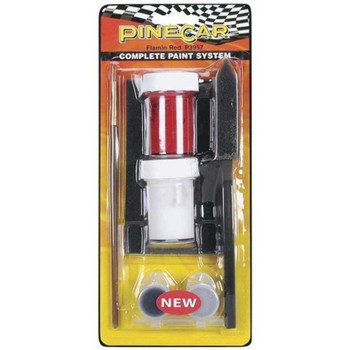 PineCar P3957 FLAMIN' RED COMPLETE PAIN