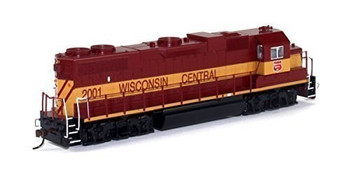 Bachmann 61712 HO Scale EMD GP38-2   #2001Diesel Wisconsin Central Locomotive