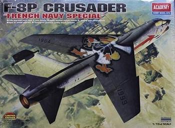 Academy 12407 1:72 F-8P CRUSADER FRNCH