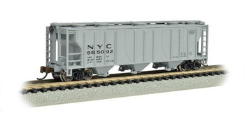 Bachmann 73856 N Scale PS-2 NYC Three-Bay Covered Hopper Vehicle