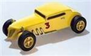 PineCar P374  BANDIT COUPE- DELUXE KIT