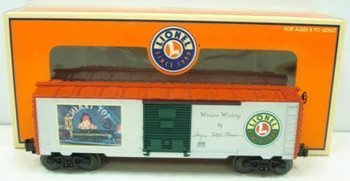 "Lionel 6-36265 Angela Trotter Thomas""Window Wishing"" Boxcar"
