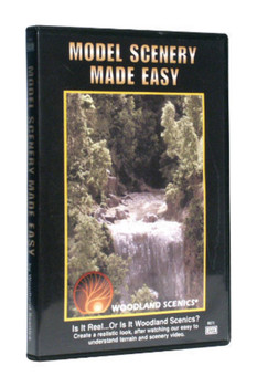 Woodland Scenics 973 MODEL SCENERY EASY DVD