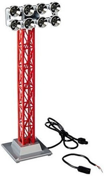 Lionel Christmas Red Floodlight Tower