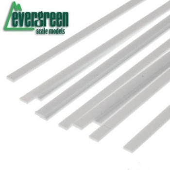 "Evergreen 139 .030 X .250"" STRIPS (10)"