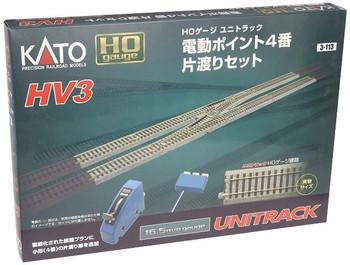Kato 3-113 HO Scale HV3 INTERCHANGE W/#4