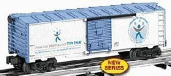 LIMITED PRODUCTION 29910 100TH ANNIVERSARY TOY FAIR BOXCAR