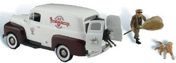 Autoscene Dog Gone Animal Control Van w/Figure & Dog HO Scale Woodland Scenics