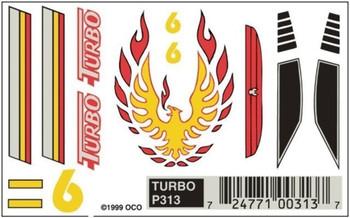 PineCar P313 TURBO DRY TRANSFER