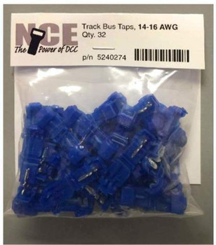 NCE 5240274 TRK BUS TAPS BLUE 32PK