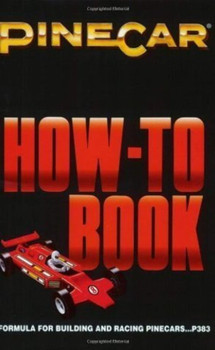 """PineCar P383 HOW-TO-BOOK """"BUILDING PIN"""