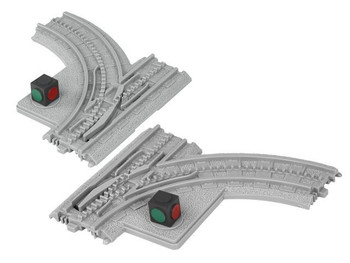 Lionel Imagineering Right Hand and Left Hand Switch Pack