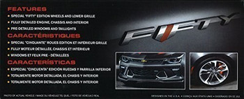 "AMT 1035 1:25 2017 Chevy Camaro SS ""Fifty"" Edition"