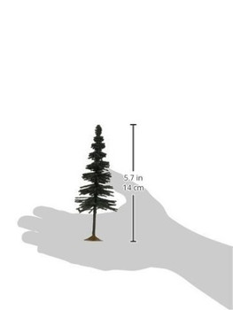 Bachmann 32004 HO Scale inches 6 inches Spruce Trees 6 Per Box
