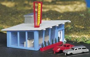Bachmann Drive-In Hamburger Stand - N Scale