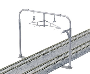 Kato 23-062 N Catenary Poles, Double Track/Arched (10)