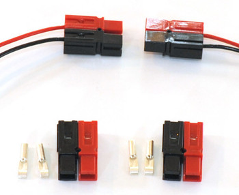 NCE 5240290 AND-8 POWER POLES RED/BLK