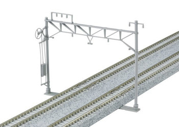 Kato 23-061 N Catenary Poles, Double Track/Wide (10)