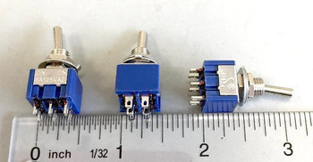 NCE 5240317 DPDT CENTER TOGGLE 3 PACK