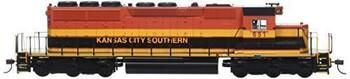 Bachmann Industries Kansas City Southern #651 Diesel Locomotive Train