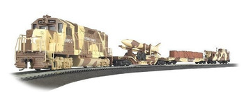 Bachmann 00752 HO US Army Strike Force Train Set