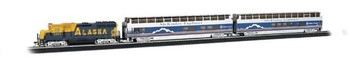 Bachmann 00743 HO Scale McKinley Explorer Ready To Run Electric Train Set