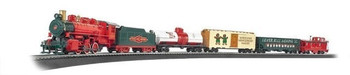 Bachmann 00724 HO Scale Jingle Bell Express Ready To Run Train Set
