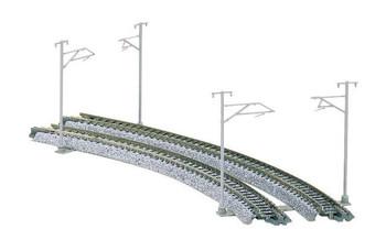 Kato 23-059 N Single Track Catenary Poles(16)