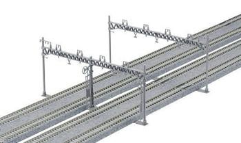 Kato 23-064 N Catenary Poles, Four Track (10)