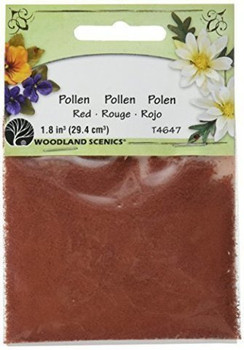 Woodland Scenics T46-47 Pollen, 1-Ounce, Red