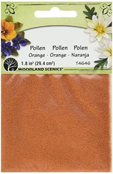 Woodland Scenics T46-46 Pollen, 1-Ounce, Orange
