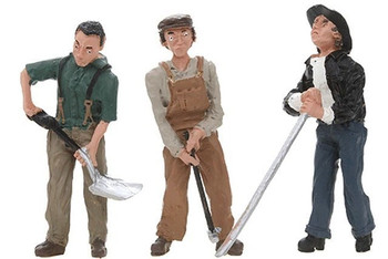 Woodland Scenics G Scale Scenic Accents Figures/People Rail Workers