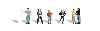 Woodland Scenics HO Scale Scenic Accents Figures/People Set Rebels (6)