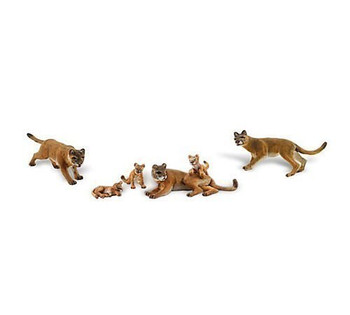 Woodland Scenics HO Scale Scenic Accents Cougars & Cubs