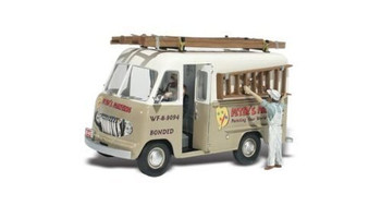Peters Painting Truck HO Scale Woodland Scenics