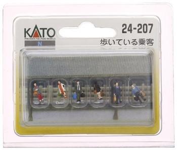 Kato 24-207 N Walking Passengers (6)