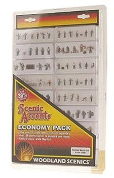 Woodland Scenics N Economy Figure Assortment, WOOA2062
