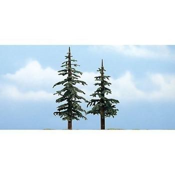 "Woodland Scenics TR1627 Premium Lodgepole Tree, 4-5"" (2)"