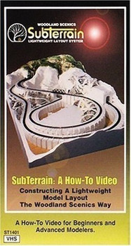 SubTerrain: A How-To Video Constructing a Lightweight Layout System The Woodland Scenics Way [VHS]