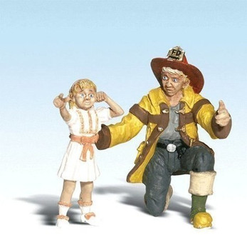 Woodland Scenics G Fireman Bill & Betsy WOOA2539