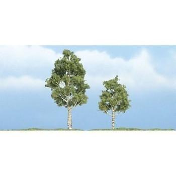 "Woodland Scenics TR1612 Premium Aspen Tree, 3""/2"" (2)"