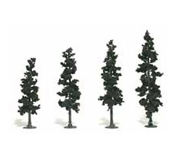 "Pine Tree Kits 4""-6"" Woodland Scenics"