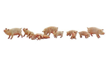 WOODLAND SCENICS A2218 Yorkshire Pigs N WOOU2218