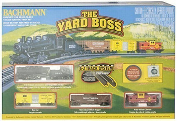 Bachmann 24014 Yard Boss - N Scale Ready to Run Electric Train Set