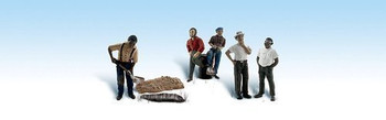 Woodland Scenics HO Scale Scenic Accents One Man Crew