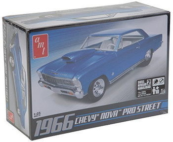 AMT 636 1:25 Scale '66 Chevy Nova Pro Street Dragster Kit